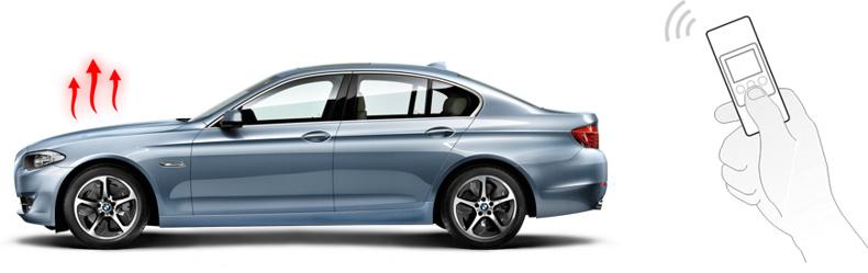 BMW 5 F10 и дистанционное управление подогревателем